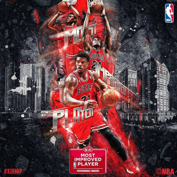 The @ChicagoBulls' @JimmyButler named 2014-2015 @Kia NBA Most Improved Player of the Year! #KiaMIP
