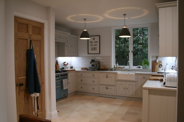 Handmade Kitchen By Aberford Interiors Painted In Farrow And Ball