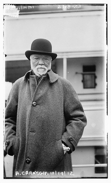 Andrew Carnegie; the Robber Barons were a challenge. With them came monopolies and corrupt business practices. Also their companies were full of safety hazards, causing many adults and children to be killed or harmed.