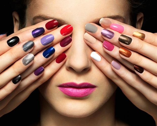 The HJ Manicure Range, nail polish collection.