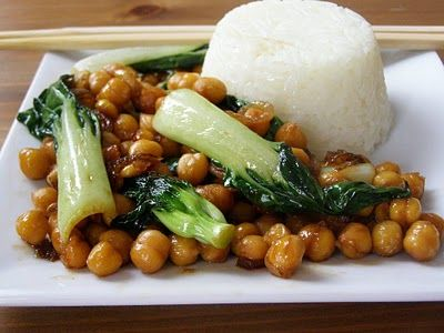 Chickpea, onion and baby pak choi   Main Entrees--- Rice, casseroles ...