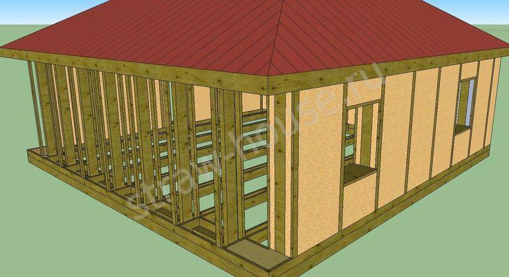 Каркасный дом способы утепления соломенными блоками