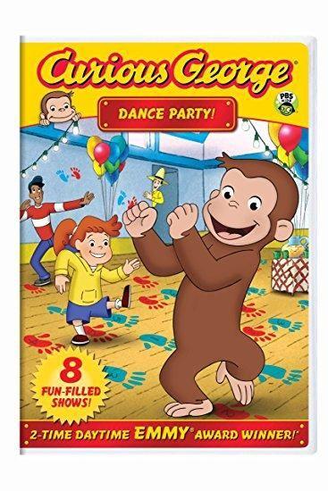 Frank Welker & Jeff Bennett - Curious George: Dance Party!