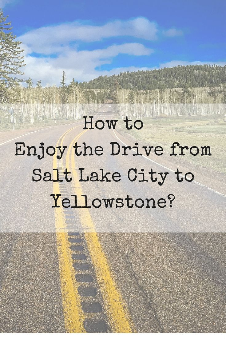 How to Enjoy the Drive from Salt Lake City to Yellowstone?