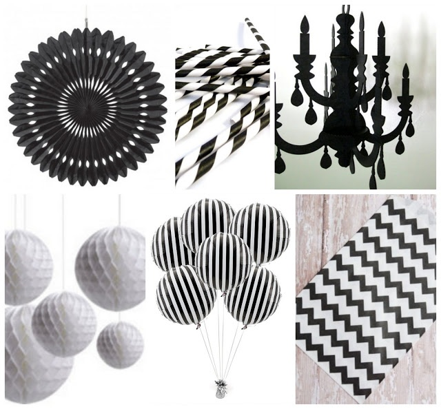 karens soiree classic black u0026 white party