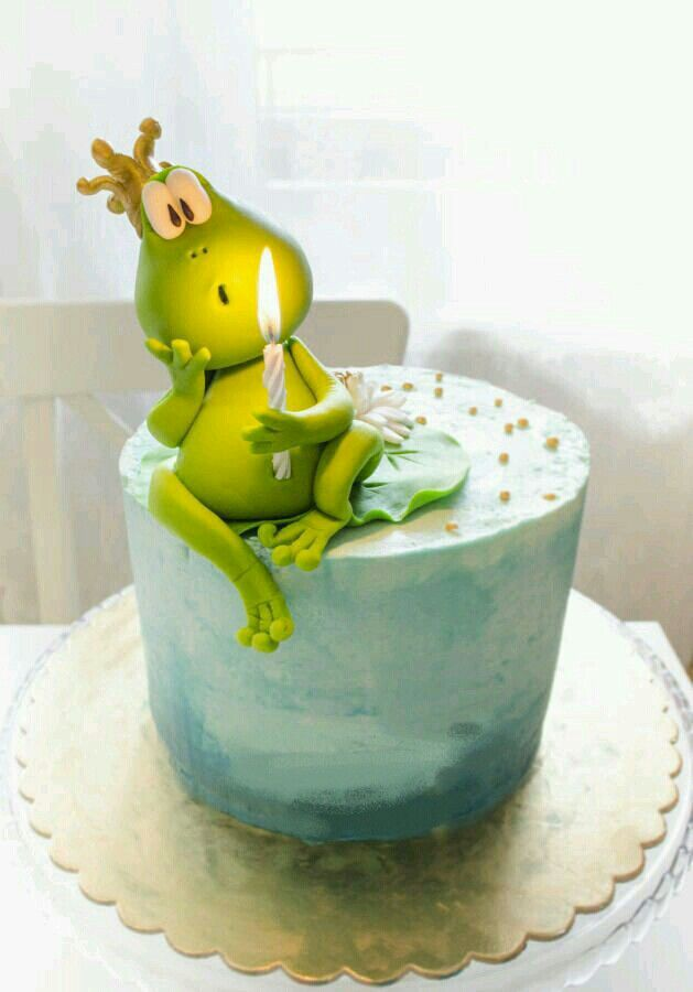Princess and the Frog cake
