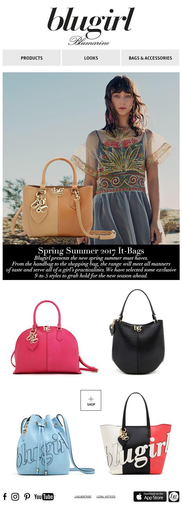 Blugirl Spring Summer 2017 It-Bags