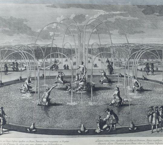 Le premier bassin de latone ch teau de versailles sur - Le jardin de versailles histoire des arts ...