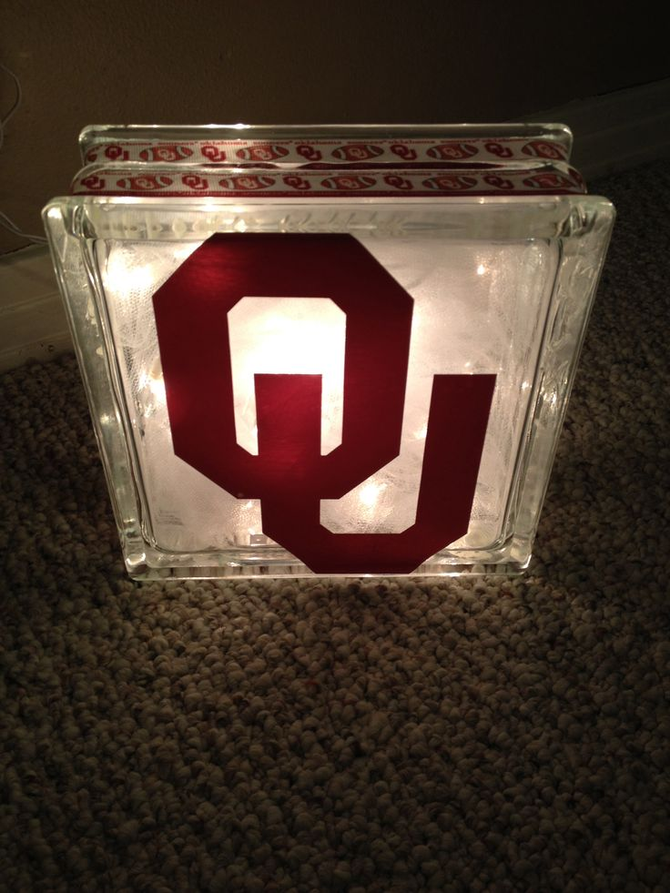 I should have made these and sold at flea markets!! Oklahoma Sooners