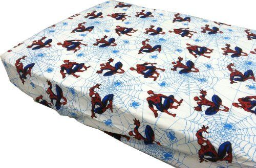 Spider-Man Webslinger Toddler Sheet Set - http://astore.amazon.com/home_garden_tools-20/detail/B002U7X9HW