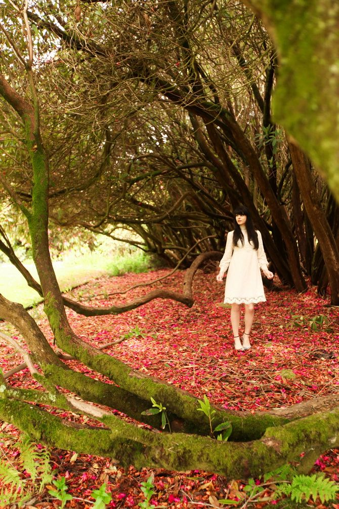Our favourite, The Cherry Blossom Girl - The Lost Gardens of Heligan 12. A x #colouroftheweek