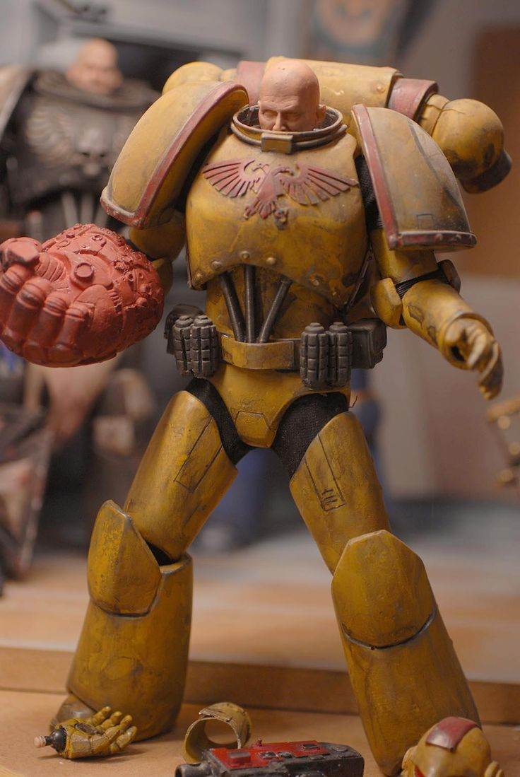 1/6 scale Warhammer 40k Space Marines - Page 7 - Forum ...