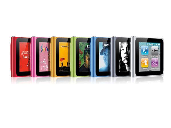 iPod nano (6th generation) - Silver