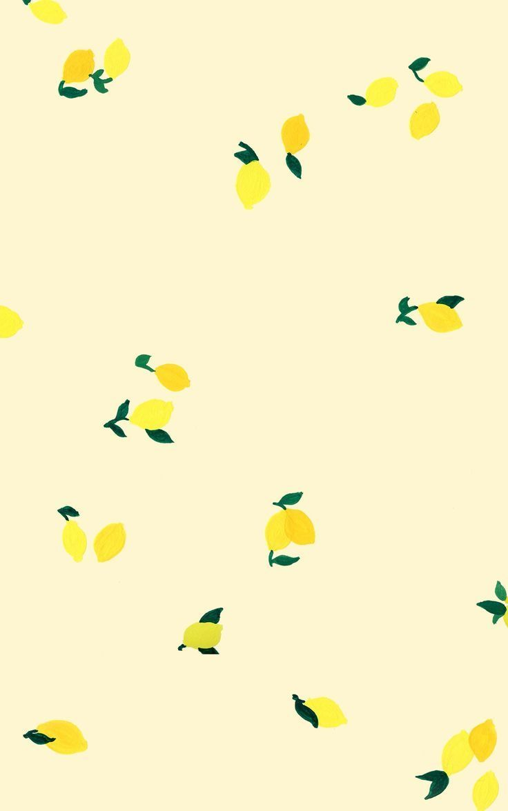 Lemons Cute Wallpaper Backgrounds Cute Wallpapers Pattern