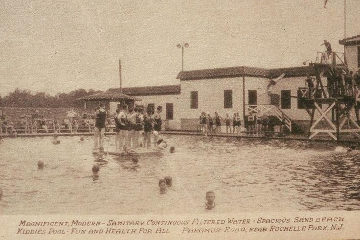 Arcola Swimming Pool Rochelle Pk Vintage Places In Nj