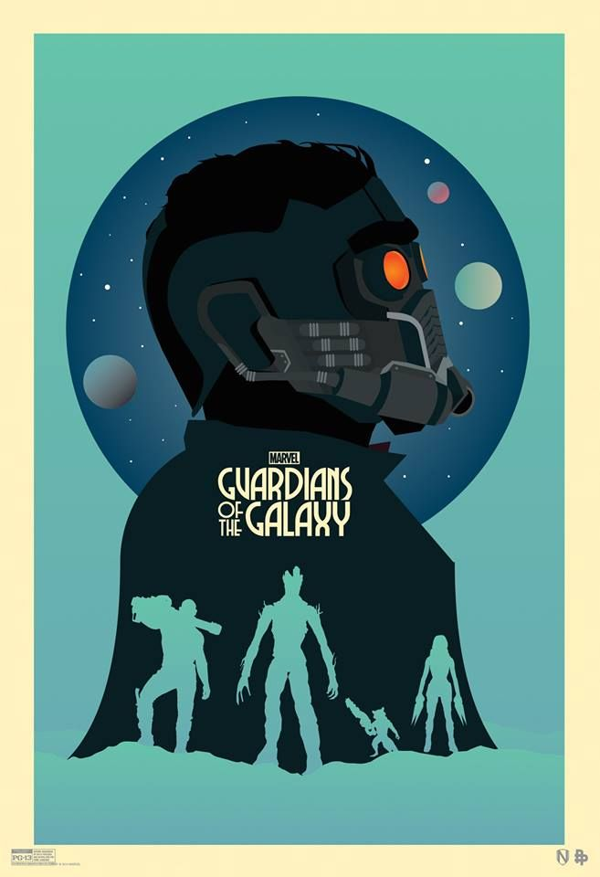 """Attendees of Marvel's San Diego Comic Con Hall-H panel this week will receive this limited edition Marvel's """"Guardians of the Galaxy"""" mini-poster! The best part: this one's fan-created - don't we just have the most talented fans?"""