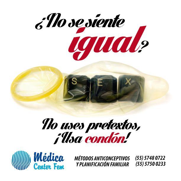 """Mito: """"Con #Condón no se siente igual""""... Existen en el mercado diferentes grados de sensibilidad en los preservativos. ¡Infórmate! #MedicaCenterFEM http://www.medicacenterfem.com/metodos-anticonceptivos/condones-preservativos/"""