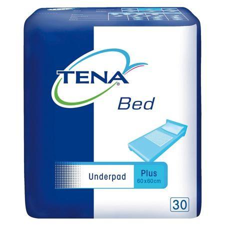 TENA Одноразовые впитывающие простыни Tena Bed Underpad Normal 60х60 см., 30 шт  — 780р.  Одноразовые впитывающие простыни Tena Bed Underpad Normal (Тэна Нормал) 60х60 см.,  используются для защиты кровати от протекания в период подбора продукции ( когда возможны протекания из-за неправильно подобранного или закрепленного подгузника), пеленании, гигиенических процедур при длительном использовани подгузников для отдыха и аэрации кожи.  Впитывающая поверхность TENA Бед состоит из нескольких…