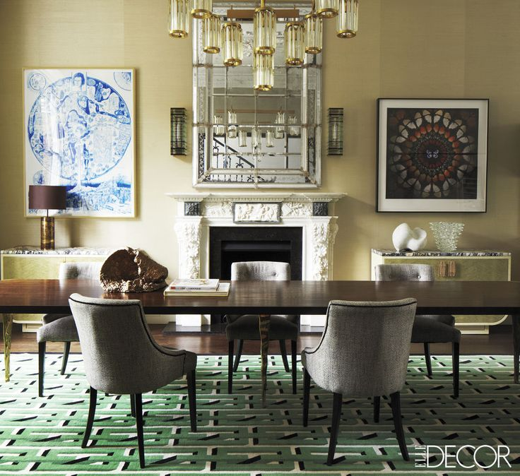 Marvelous 13 Green Rooms With Serious Designer Style