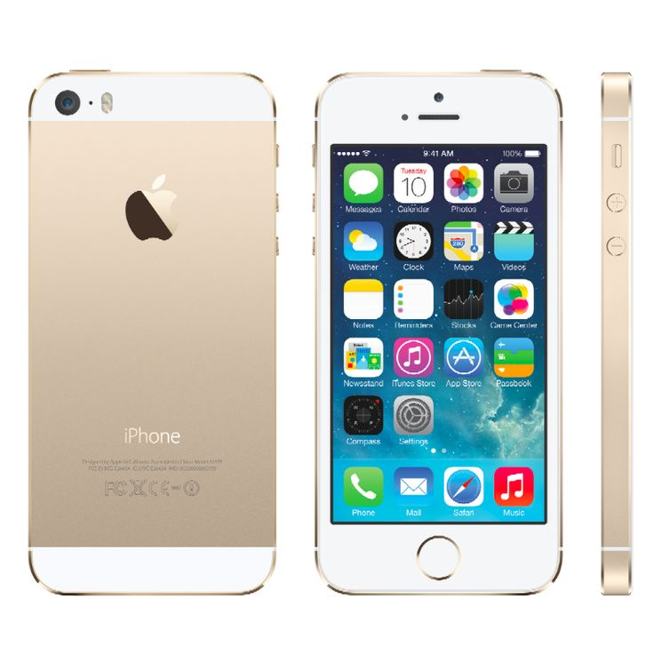 "The Gold iPhone 5S, I think Wes will want my ""old"" iPhone 5 :)"