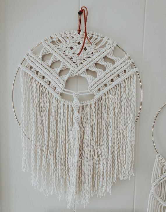 3123 best macrame wall hangings images on pinterest for Dreamcatcher weave patterns