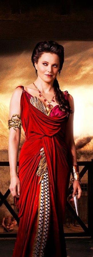 Lucretia, our beautiful Xena
