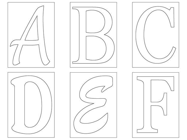 Best 25+ Alphabet Stencils Ideas On Pinterest