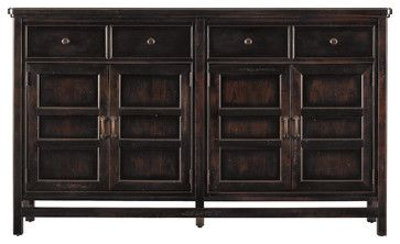 Modern Craftsman Midcentury Buffet - craftsman - buffets and sideboards - Masins Furniture