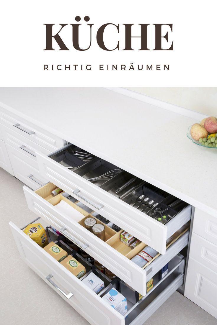 Küchenschränke organisieren: Geschirr | Ordnung schaffen | organize ...