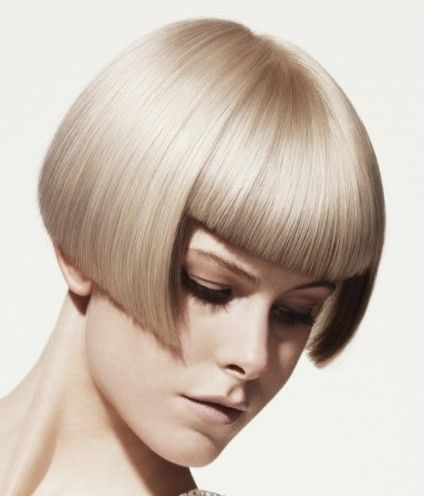 Ice Blonde Crop Hairstyle - Everyday - Careforhair.co.uk