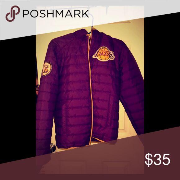 Lakers Jacket I'm a huge lakers fan and I love this Jacket Jackets & Coats Bomber & Varsity