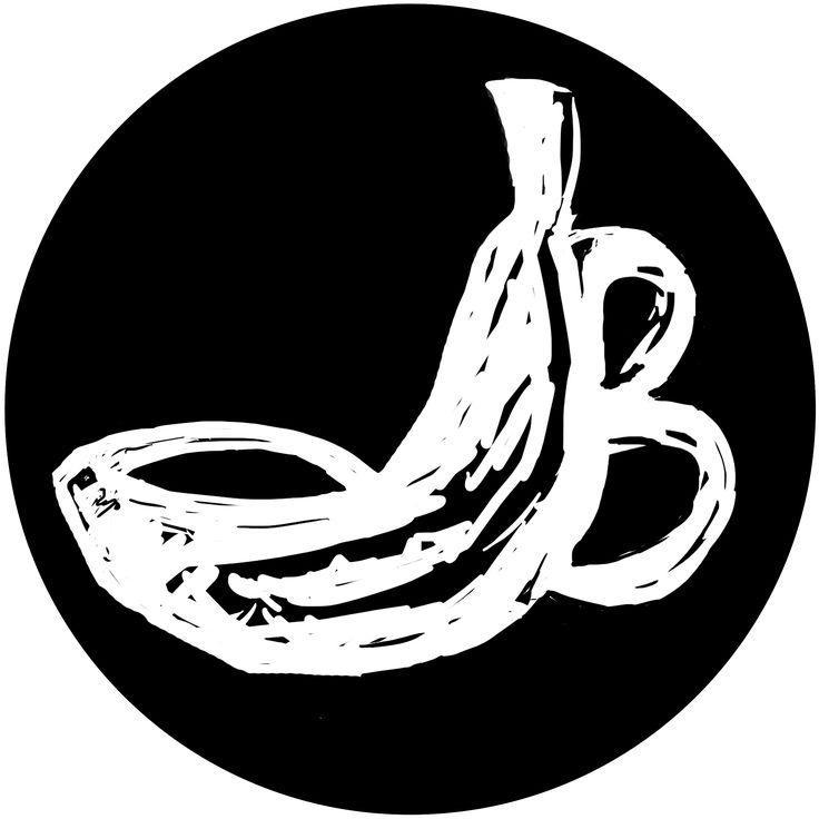 """попытка логотипа к тату-студии """"BANAN"""""""