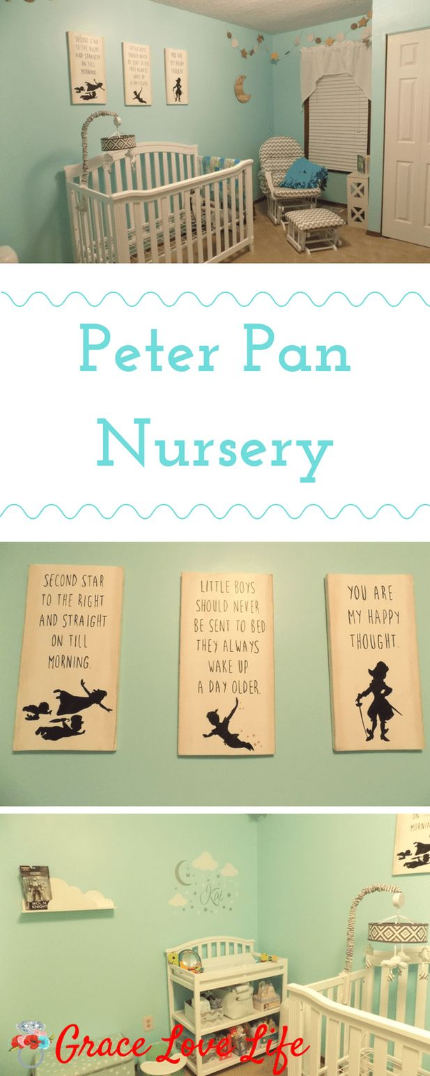 Peter Pan Nursery | Grace Love Life