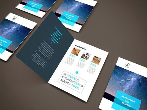 18 best Brochure Templates images on Pinterest Brochure template - gate fold brochure mockup