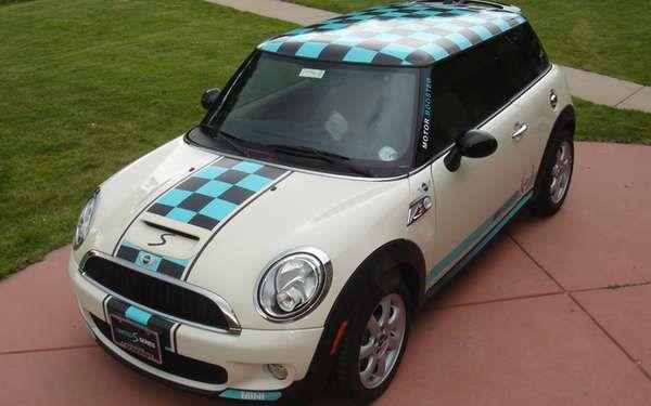 Customizable Cooper Car Wraps