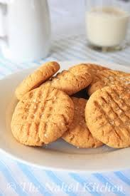 3 ingredient gluten free peanut butter cookie -1 cup peanut butter  -1/2 cup sugar -1 egg Mix and bake @ 325 degrees for 15 minutes