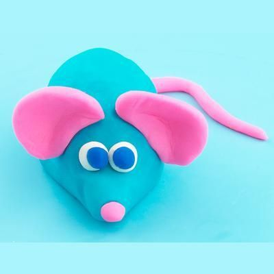 how to make play doh animals