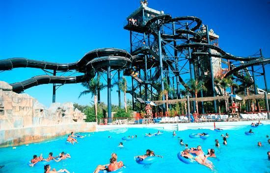 Six Flags Hurricane Harbor is a great Water Park in Dallas!