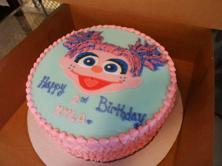 Abby Cadabby Ruffle Cake