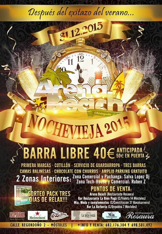 Fiesta de Nochevieja en Zona Sur de Madrid