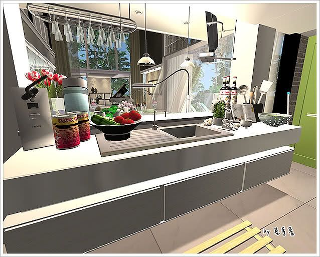 Pinterest the world s catalog of ideas for Sims 2 kitchen ideas