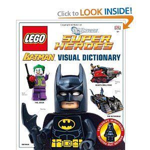 LEGO Batman: Visual Dictionary (LEGO DC Universe Super Heroes) [Hardcover]