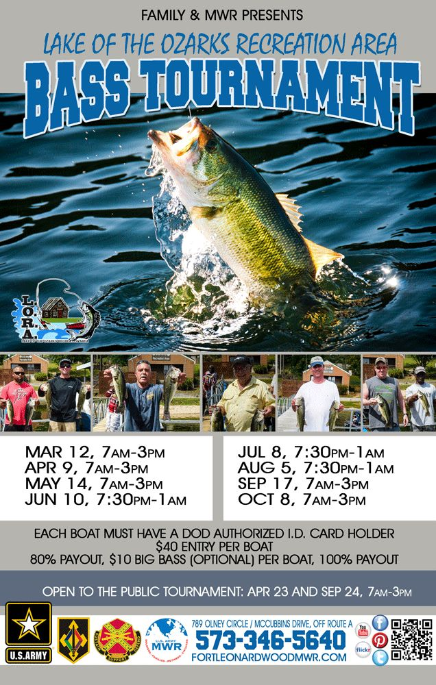 bass fishing tournament flyer