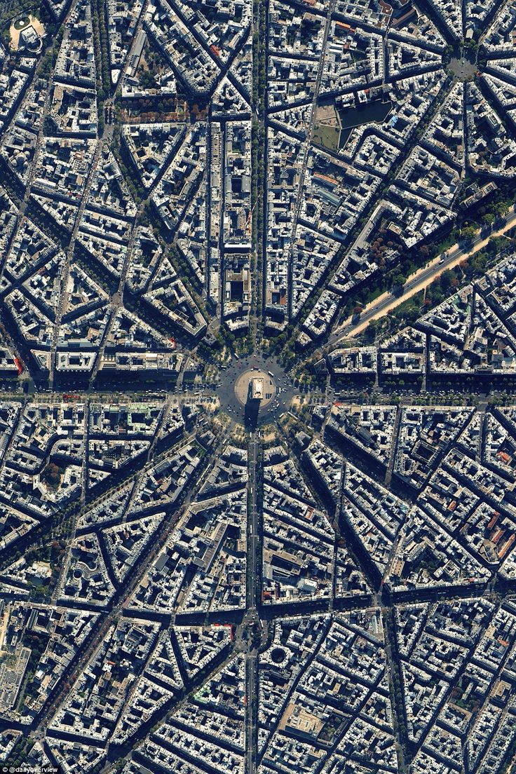 Located at the centre of 12 radiating avenues in Paris, France, construction of the Arc de Triomphe took nearly 30 years to complete