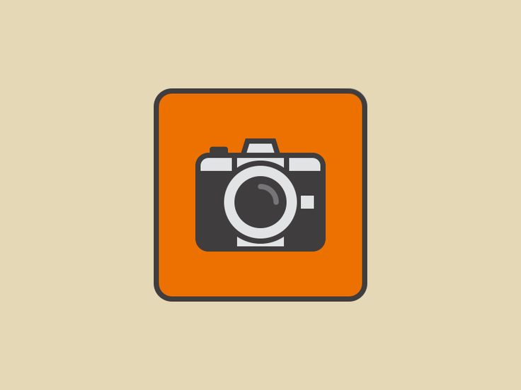 """Animated Camera Icon {gif}"" by Shinsuke Matsumoto."