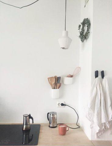 My kitchen.  Iina Vuorivirta / Bialetti / Eucalyptus