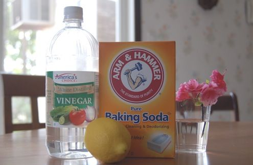 Cleaning Grout - Vinegar and Baking Soda- guess I'll try them all until the grout is clean.
