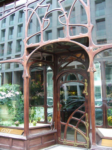 Art Nouveau store in Brussels: http://www.panoramio.com/photo/10597360