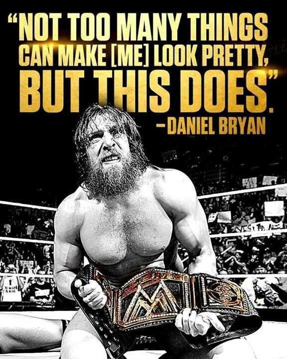 This is awesome! Daniel Bryan! Clapclapclapclapclap