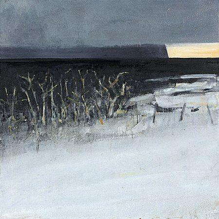Ørnulf Opdahl: Vinter i vest I, 2015, 120 x 120 cm